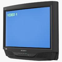 Sony Trinitron KV-27S46 Retro CRT TV