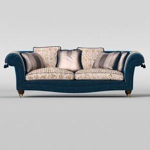 3D epoque adenia sofa model