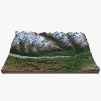 Alaska Mountain Valley