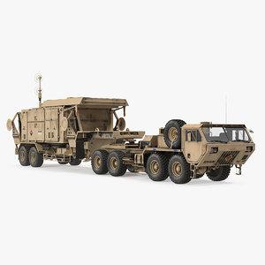 3D hemtt m985 mpq53 radar