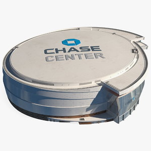 3D chase center arena