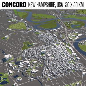 3D buildings houses maps