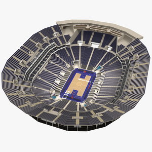 basketball indoor arena 3D model