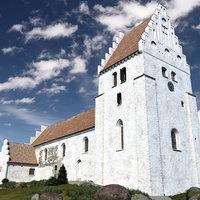 Medieval Scandinavian Church - PBR