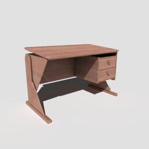 pbr drawing desk 3D