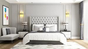 bedroom neoclassic model