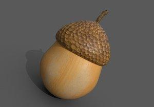 3D acorn