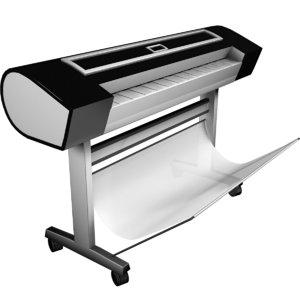 plotter printing machine 3D