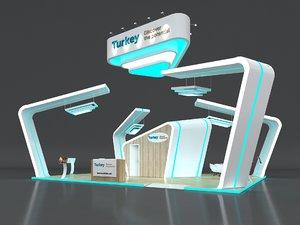 3D stall height 500 cm