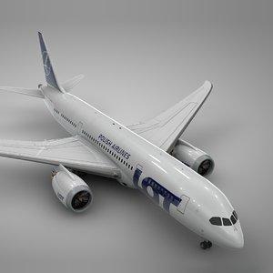 boeing 787 lot l901 3D model