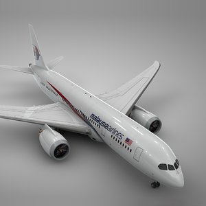 boeing 787 dreamliner malaysia model