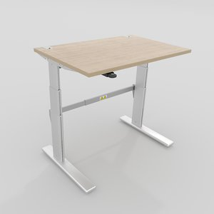 3D office table lifting mechanism