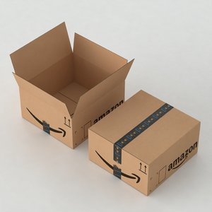 3D model amazon delivery
