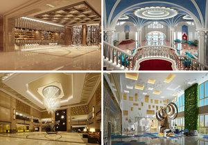 lobby scene interior model