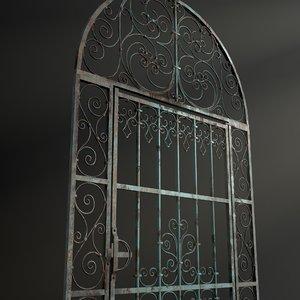 door medieval 3D