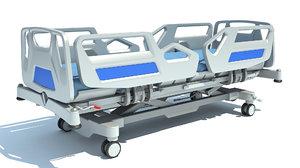 hospital medical bed 3D