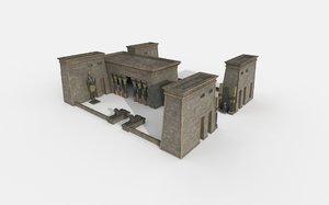 3D egypt temple