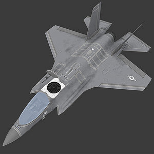 3D model f 35 f35