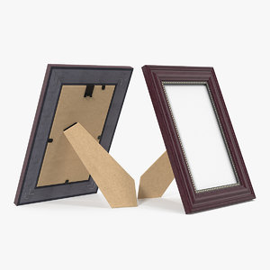 3D small wood photo frame