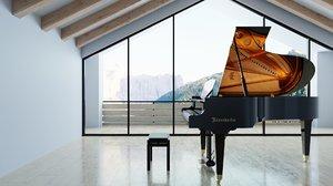 grand piano 200 music model
