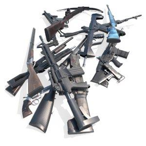 pbr weapon 3D