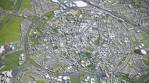 leuven area buildings model