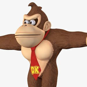 3D kong character