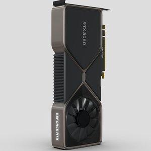 3D accurate nvidia rtx 3080