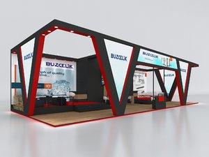 stall height 500 cm 3D
