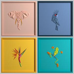 paper art work 03 3D