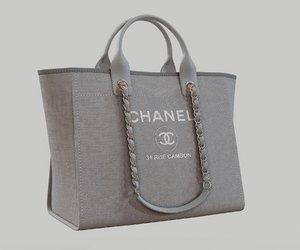 3D model chanel shoper bag