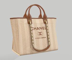 chanel shoper bag model