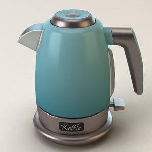 kettle electric 3D model