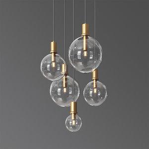 lampatron penball minimalist lamp-suspension 3D model