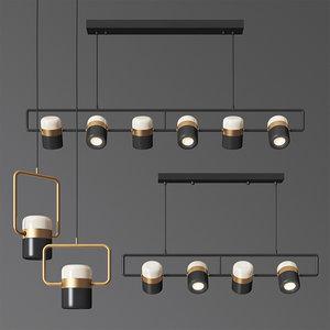 lamptron ling pl6 light set 3D