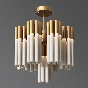pendant lamp kamable chandelier 3D model