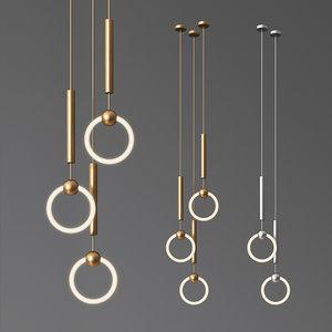 3D model light ring lee broom