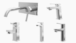 3D model - fixtures taps faucets