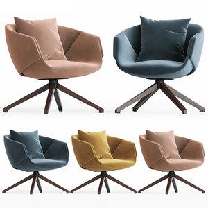 3D sp01 anita armchair model