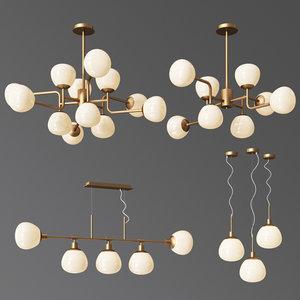 maytoni eric light 3D model