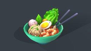 soup 3D model