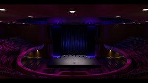 theater masonic 3D model