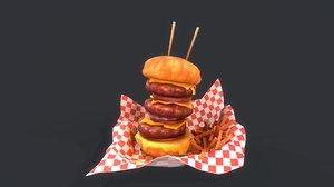 big burger model