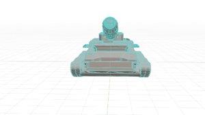 2 tank 3D model