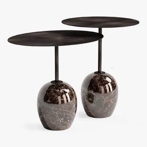 3D luca lato tables model