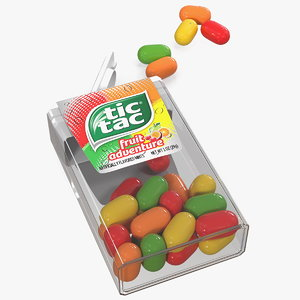 tic tac fruit adventure 3D model