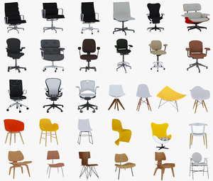 3D 31 chairs