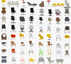 chairs 63 3D