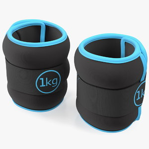 3D adjustable wrist ankle weights