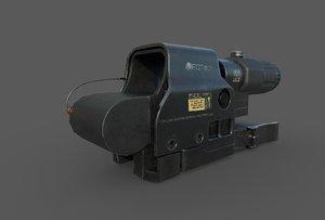 3D eotech hhs ii model